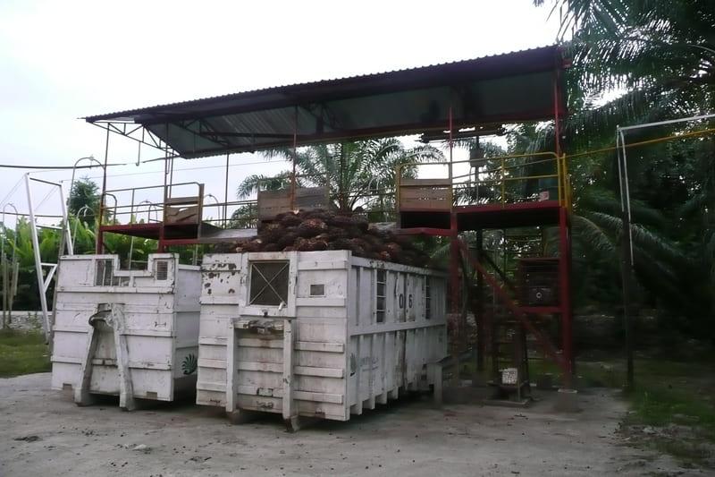 Cajas de almacenamiento de 13 a 15 ton.