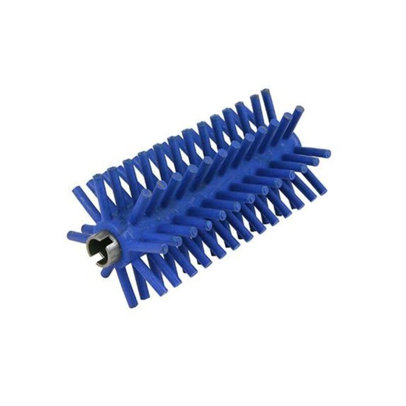 Cepillo de dureza alta (desespinado) - eje redondo.
