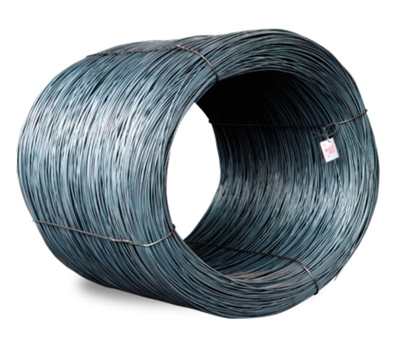 Cable en chipa o rollo de Acero.