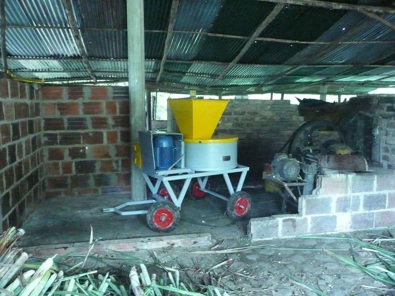 Máquina picadora para caña - pasto de alto rendimiento