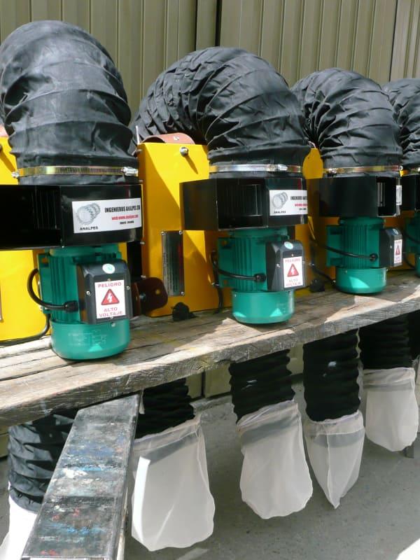 Control Integrado de Plagas con Aspiradoras