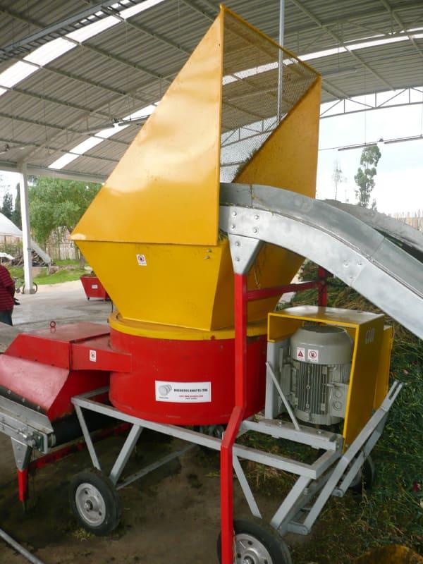Picadoras- trituradoras para Desechos Orgánicos.