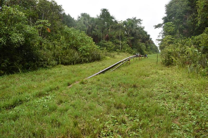 Complementación de Transporte por Cable Vía para evacuar de las  zonas de la Selva  los Derrames de Hidrocarburos por Vandalismo.