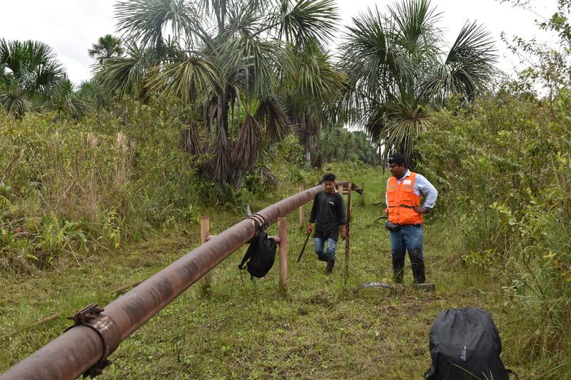 """En SINERGIA con Analpes PERU, Sistema de """"Cable Vía para evacuación de Derrames de Petroleo"""" en la Selva Amazónica."""