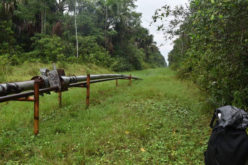 Sector del Petroleo nos permite establecer Cable Vía  a lo largo de las lineas de conducción del Petroleo.